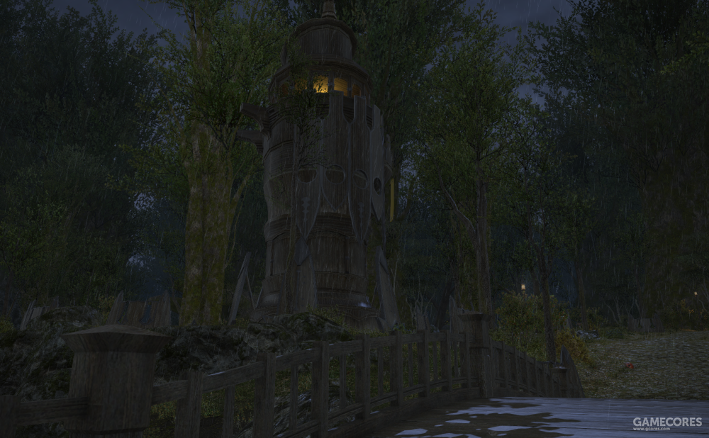 鬼哭队位于中央森林的监视塔之一,这座哨塔以神勇队著名的神臂基尔伯特的名字命名,神臂基尔伯特据说双臂力量无人能及,他能将箭矢射出千米之外