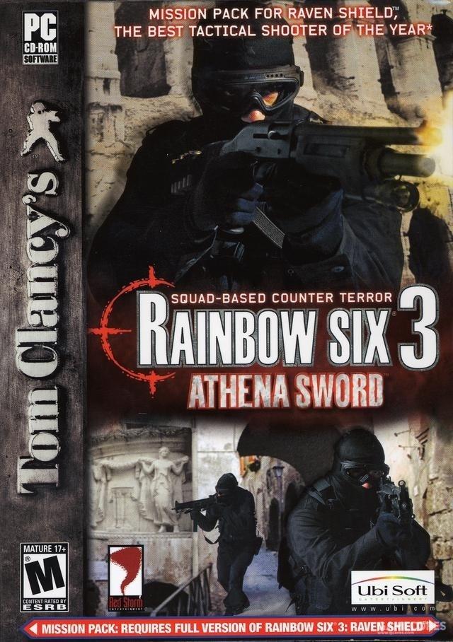 PC任务扩展包《彩虹六号3:雅典娜之剑》(2004)