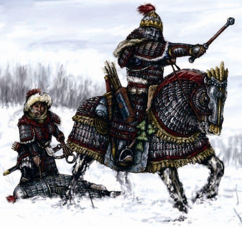 """南宋早期的甲胄骑兵,仍然采用了""""大全装""""马铠"""