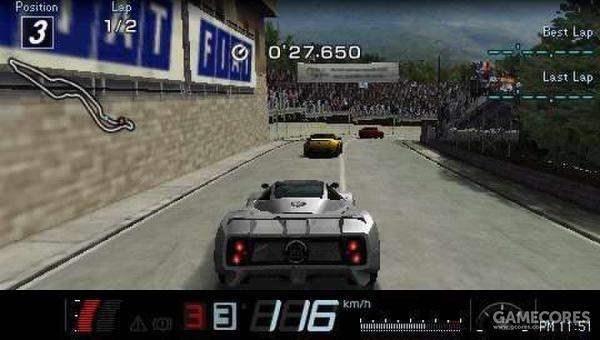 PSP上画面最好的赛车游戏