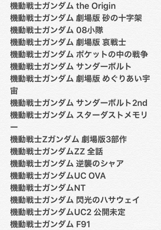 十分感谢由mystar@mystar_jp反复整理发布的补番顺序表,笔者看了一下非常齐全了,强烈推荐此播单。如果有没看懂的名字欢迎评论区留言