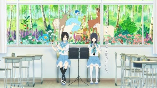 《利兹与青鸟》:一部入围奥斯卡的动画电影,两个女孩最隐秘的恋之诗