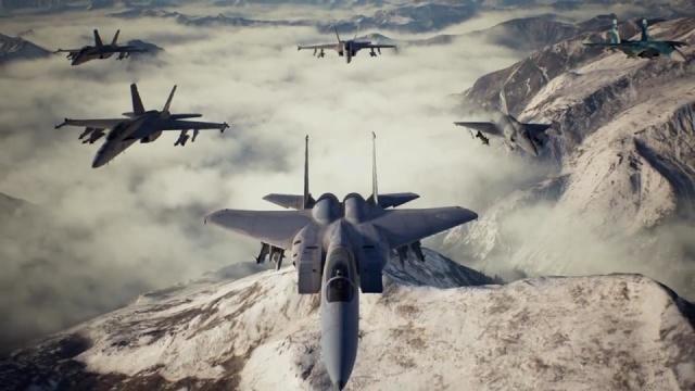角色背景&登场机型,《皇牌空战7 未知天际》公开更多细节信息