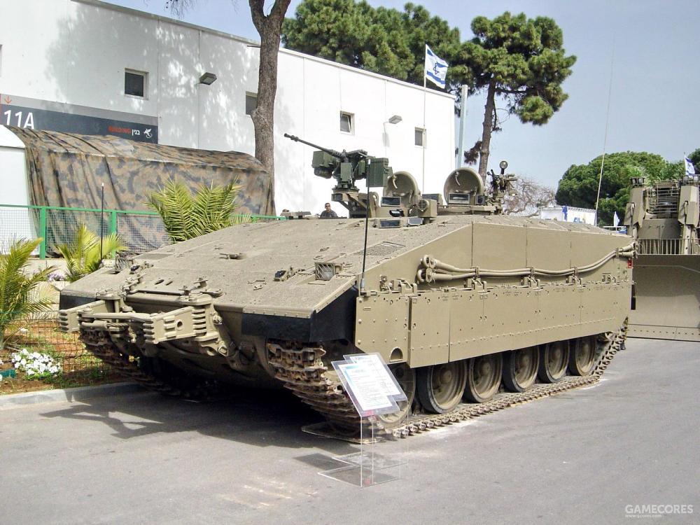 """试作型""""豹"""",采用了梅卡瓦I的车体"""