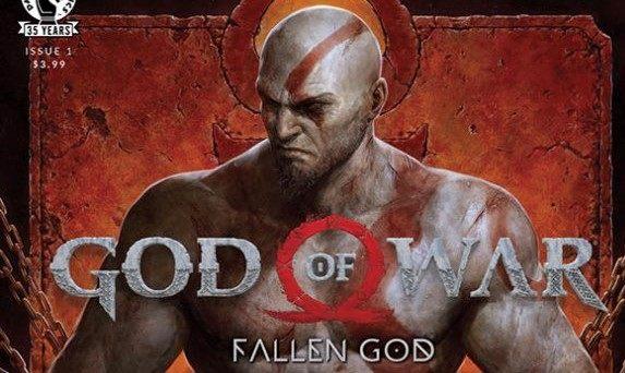 """奎托斯成为""""老父亲""""前的故事,漫画《战神:FALLEN GOD》将于3月推出"""