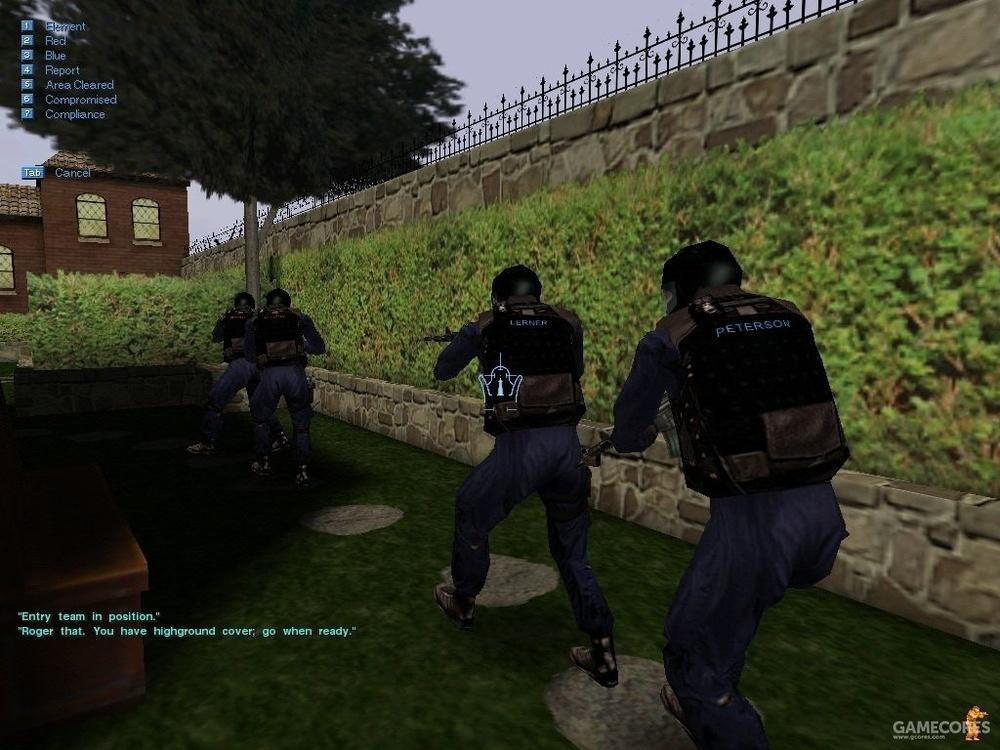 SWAT 3 游戏画面