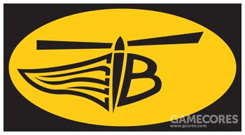 """123""""南方贝尔""""中队队徽,目前队名已改为""""沙漠鸟"""",B表示""""贝尔直升机""""的缩写"""