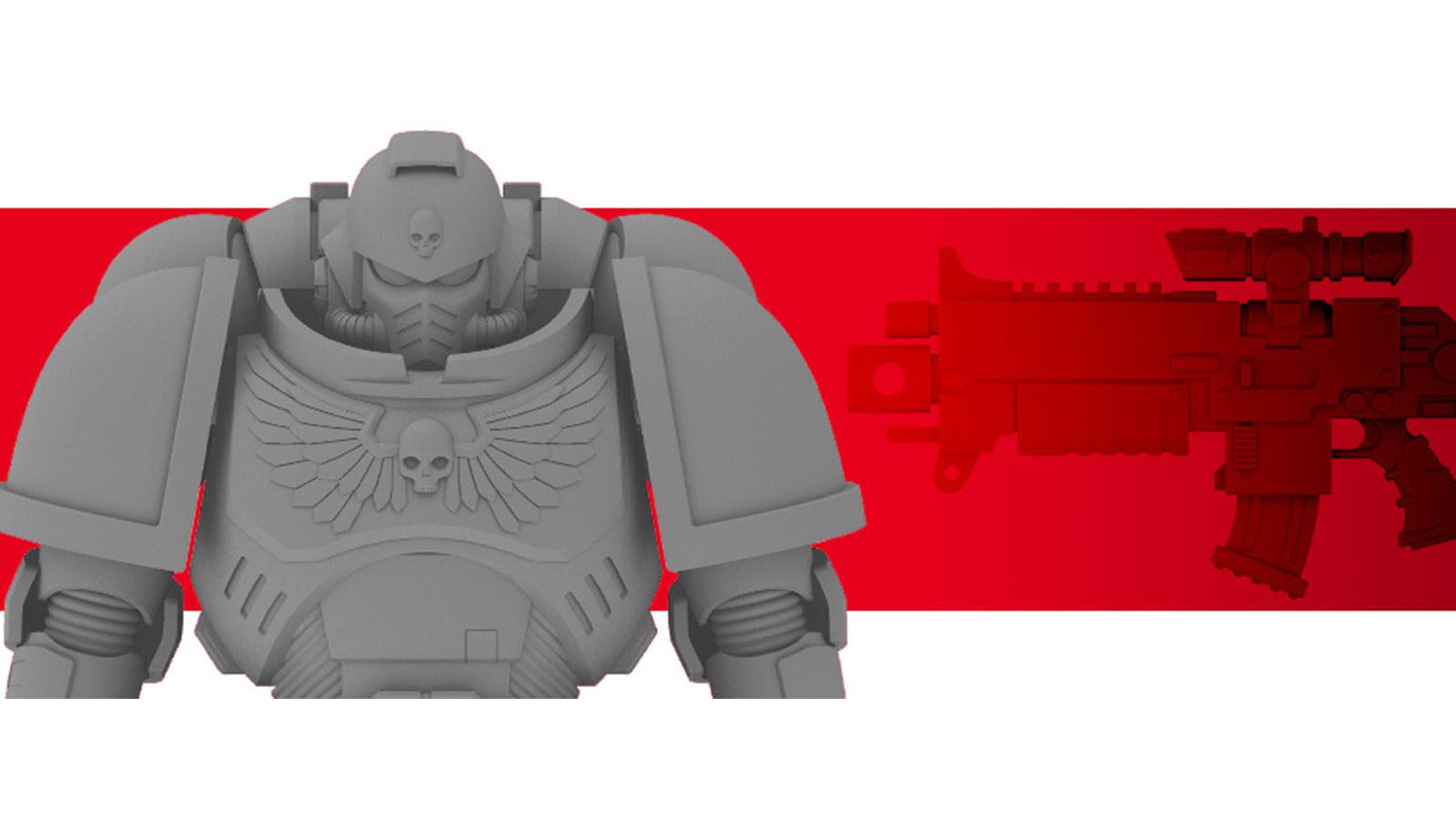 万代将推出《战锤40K》原铸星际战士可动模型