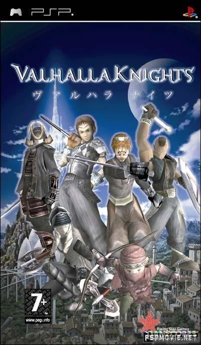 瓦尔哈拉骑士,psp的原创ARPG。