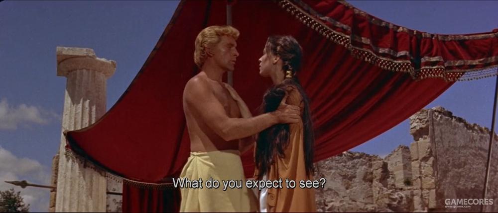 1956年的电影里亚历山大的性取向是女性