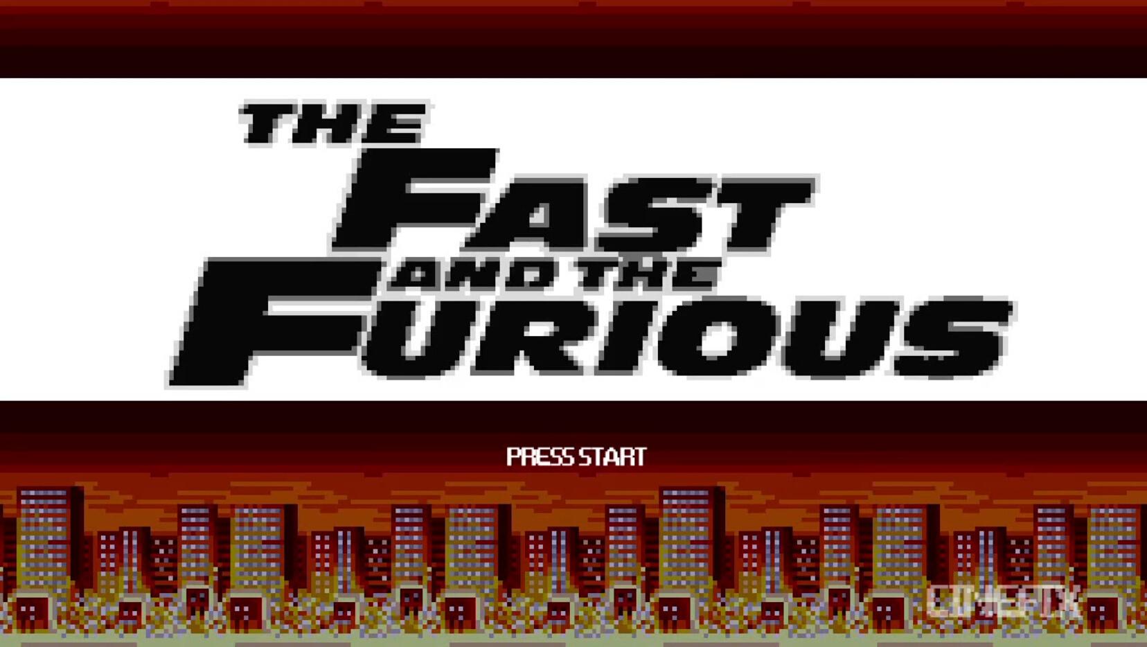 8-Bit版《速度與激情》