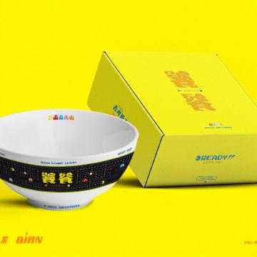 点赞+分享,即有机会获得「吉考斯工业 × 吃豆人 × 饕餮」限量陶瓷碗勺礼盒套装一个