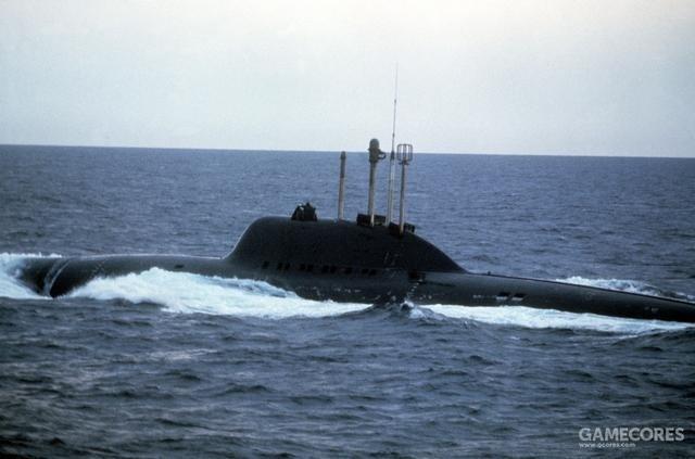 """""""阿尔法""""级潜艇,在《猎杀红十月号》里被克兰西黑惨了"""