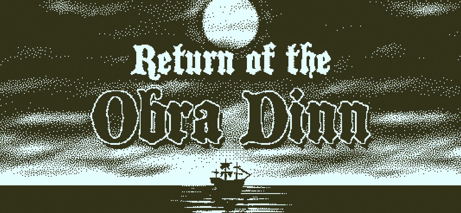 �赔员能看中文了,《RETURN OF THE OBRA DINN》正�更新官方中文