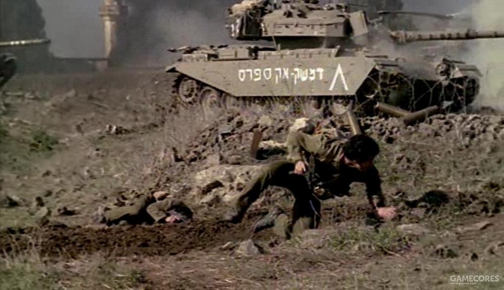 大部分场景里,二人都在战场上救死扶伤