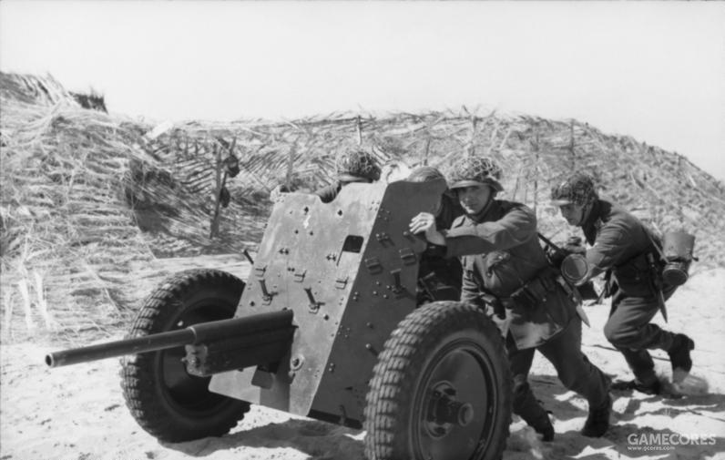 德国Pak36 37mm反坦克炮
