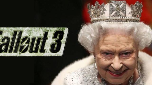 4年前,一群《辐射》玩家静候英国女王的死讯