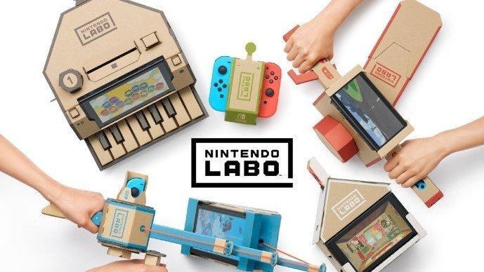 《Nintendo Labo》系列将推出官方中文版,2019年1月17日发售