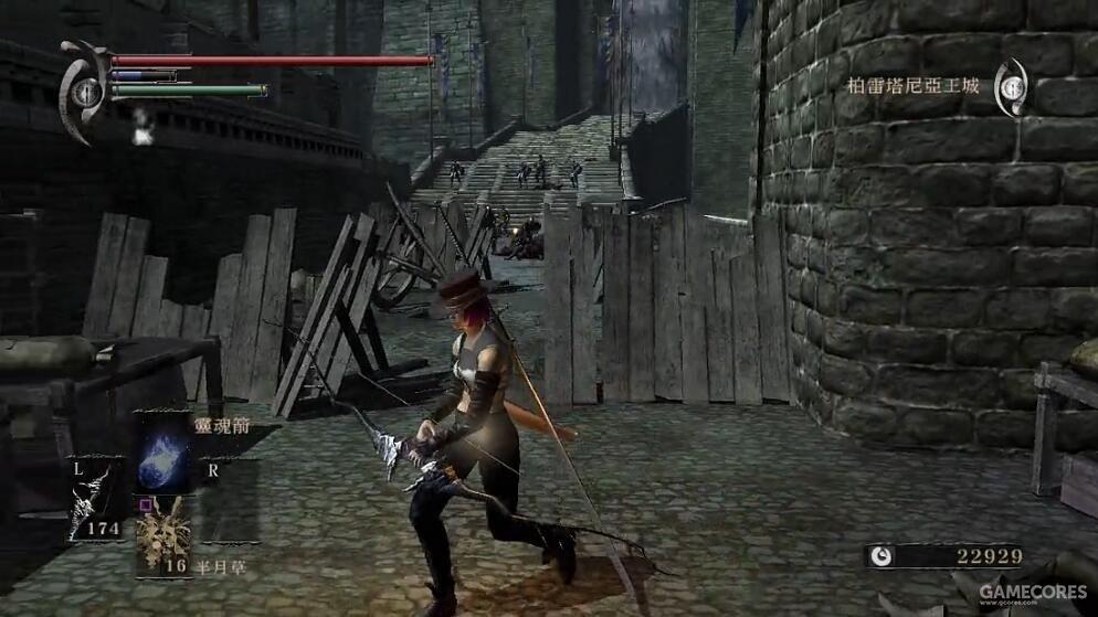 恶魂 贯穿骑士门前