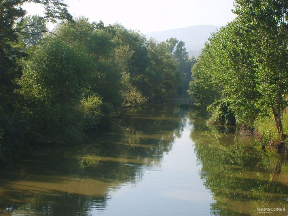 如今的格拉尼库斯河,在土耳其境内,名为比加河