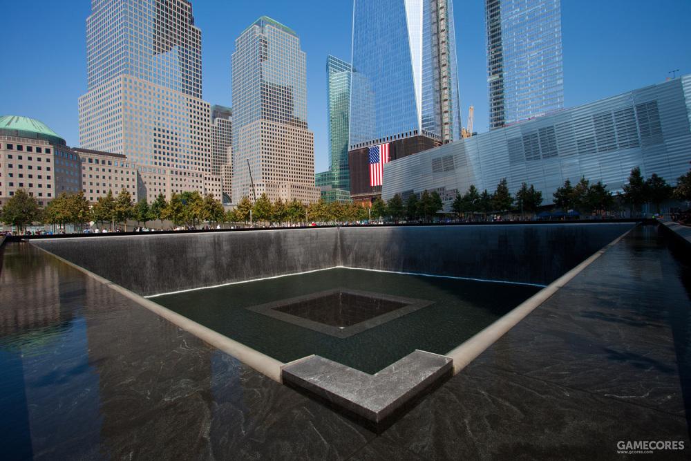 纽约市的911纪念碑