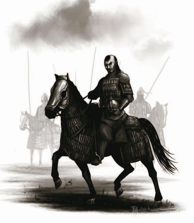 """有""""铁鹞子""""之称的西夏甲胄骑兵,他们是北宋军队最强的敌人之一"""