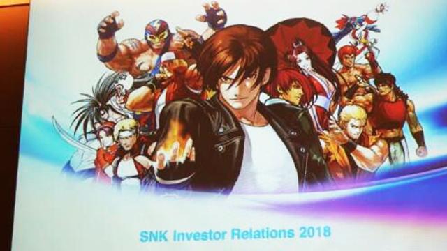 在昨天SNK发布会上,公布了有关《新侍魂》、《拳皇15》以及《合金弹头》新作的最新消息