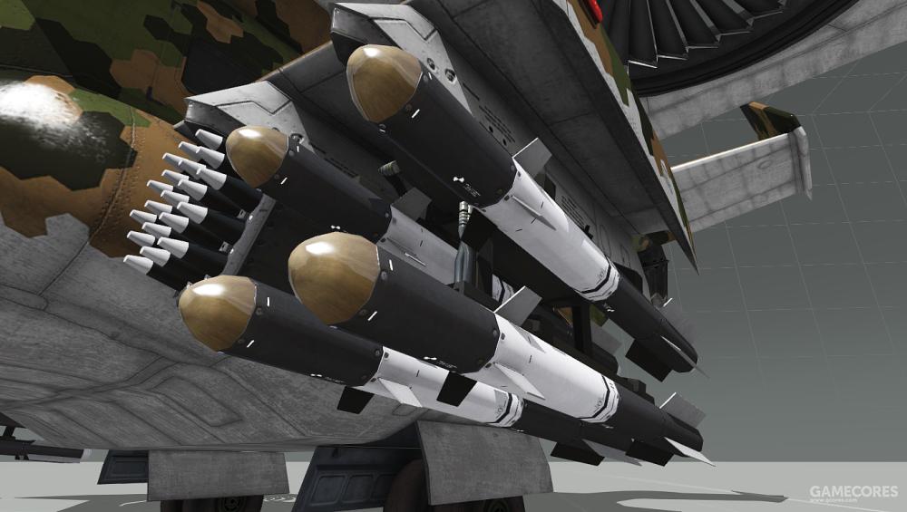 Y-32还能携带火箭和导弹