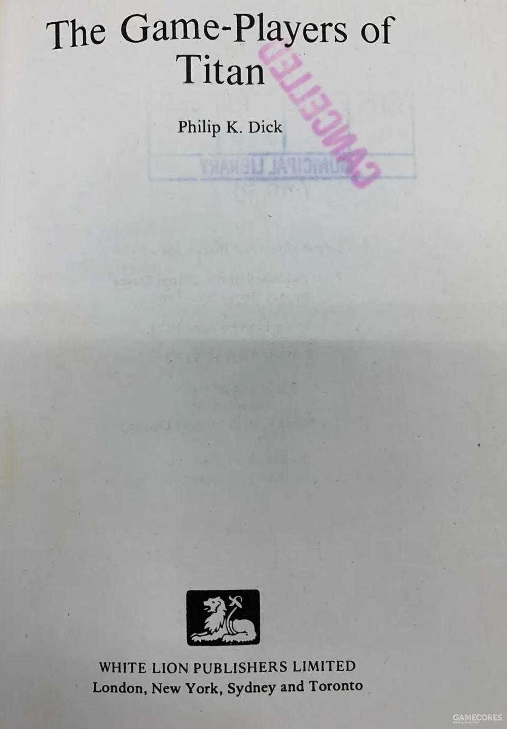 1970年代后期,白狮在英国出版了好些PKD精装