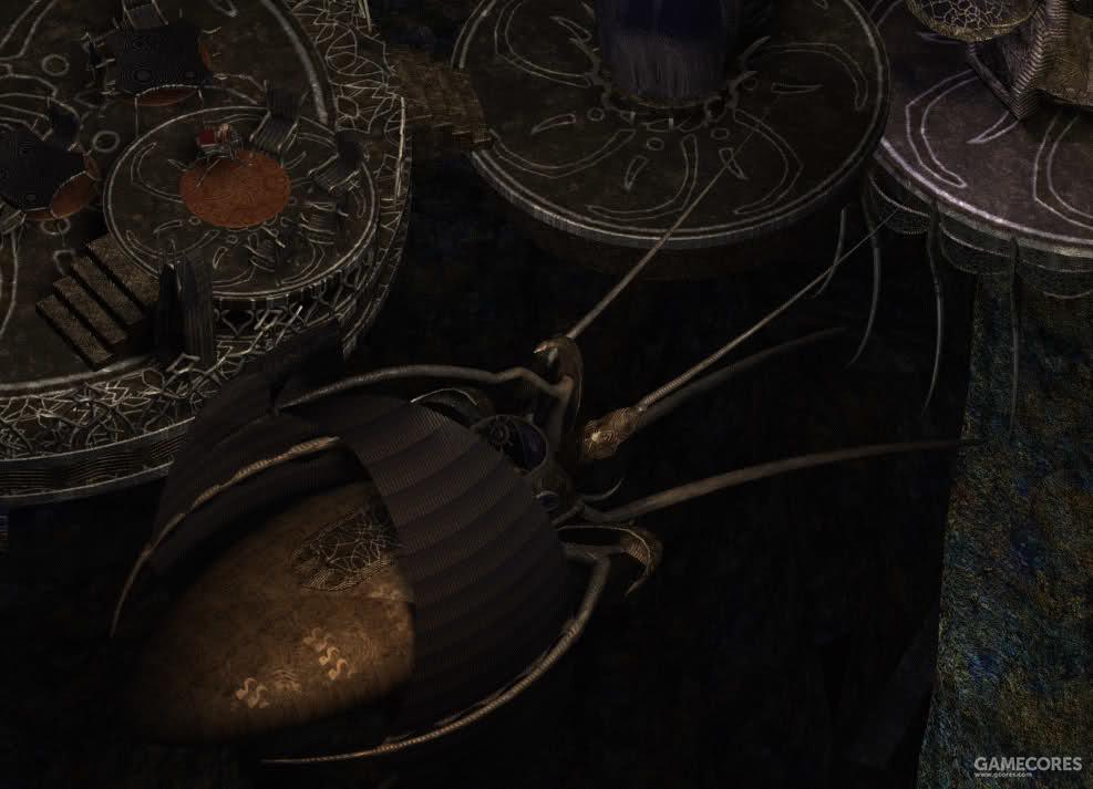 博德之门2中卓尔城中的魔法船