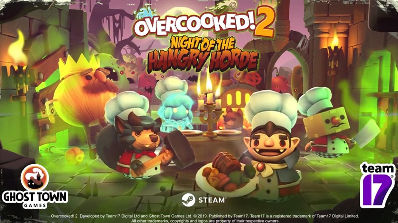 《胡闹厨房2》公布全新DLC,食材化身丧尸来袭!Steam现已上线