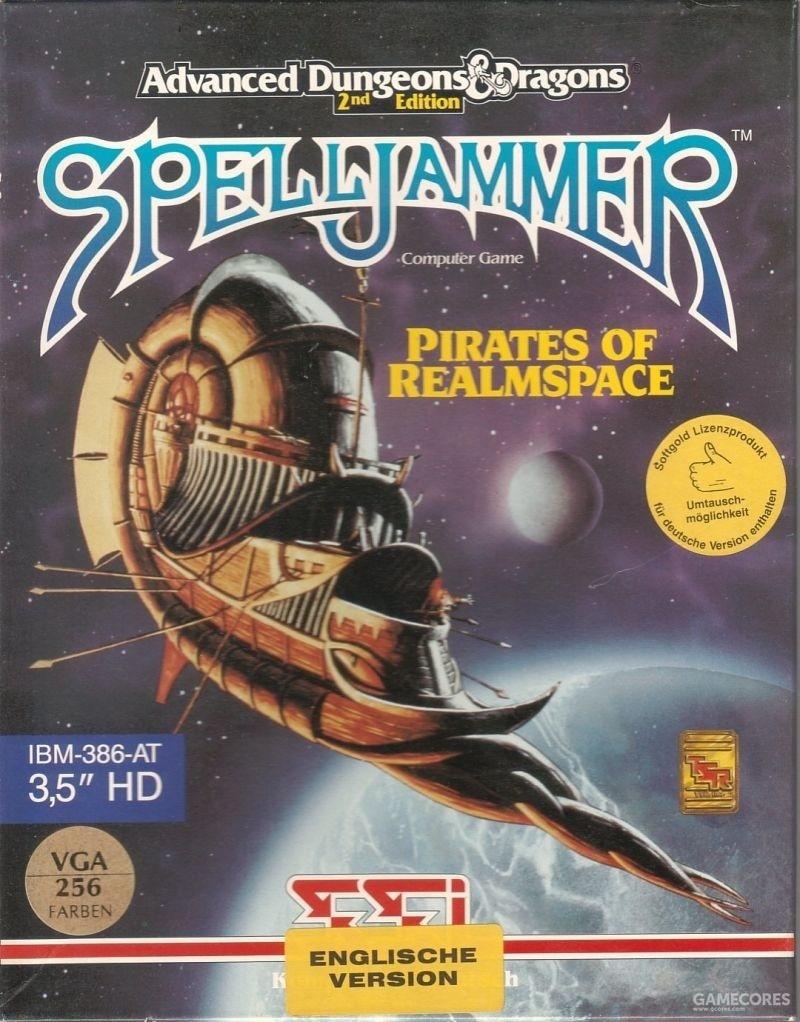 当D&D遇上星际迷航 - 魔法船:国度宇宙的海盗 1992