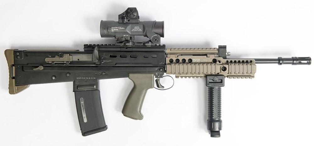 SA80无托步枪