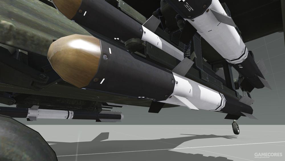 MQ-12可以携带火箭和导弹