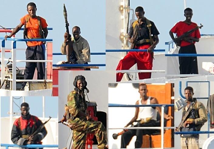 索马里海盗(二)