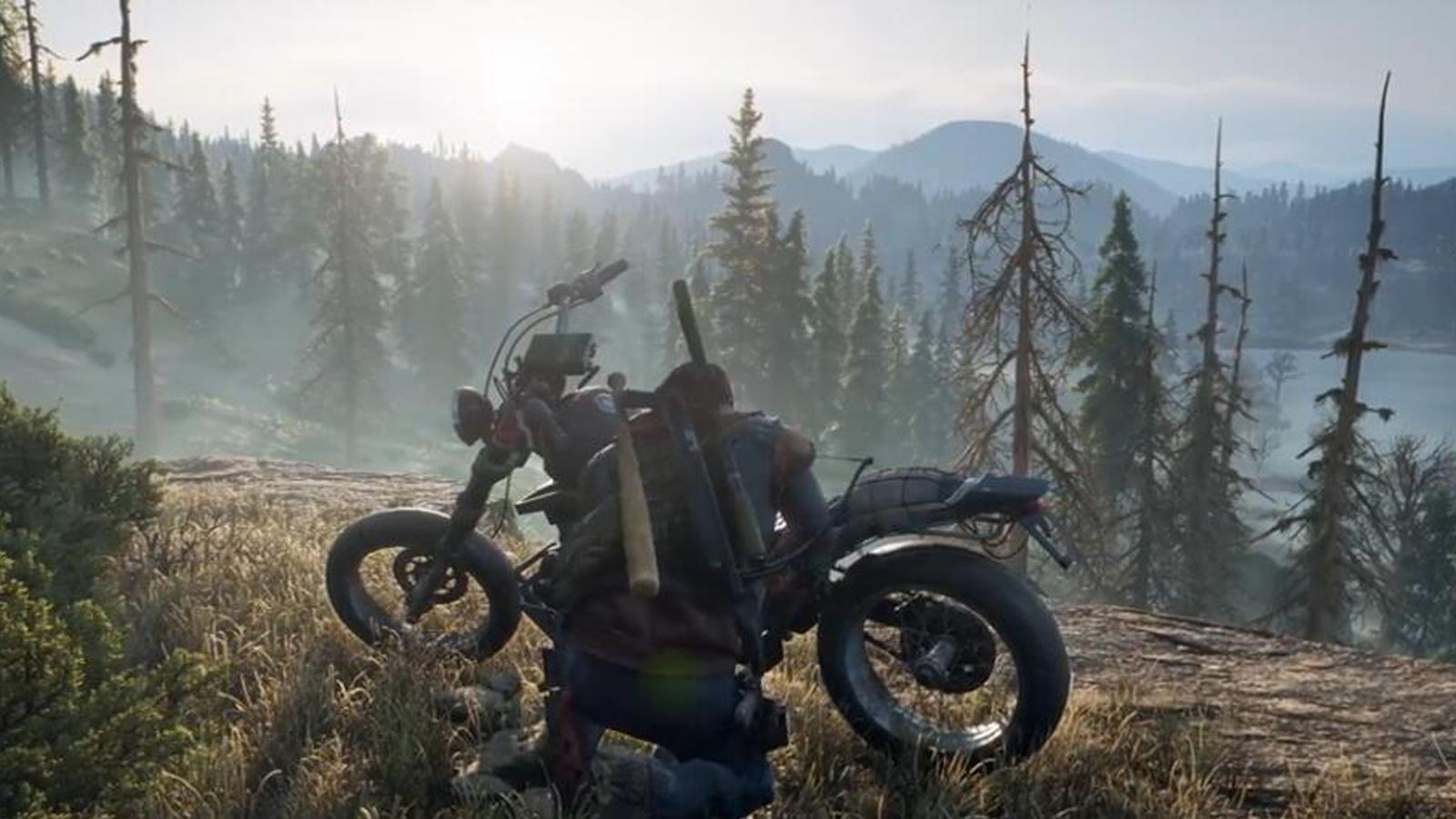 《Days Gone》放出摩托車預告,在極端世界裡混就靠它了