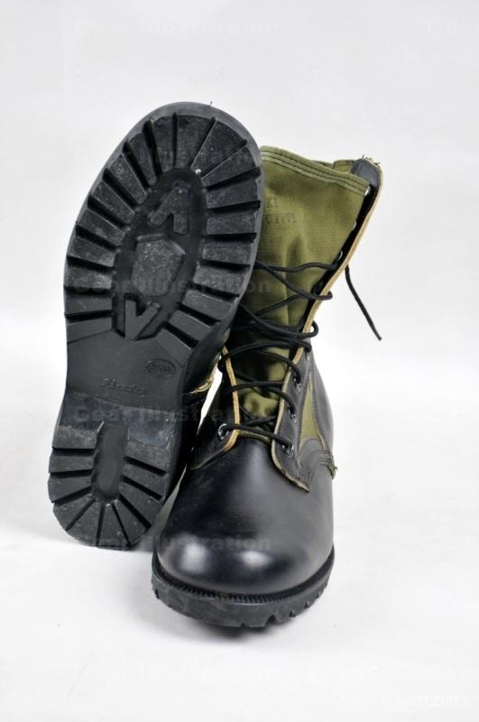 """越战期间的""""A""""底(或者叫Vibram底)丛林靴"""
