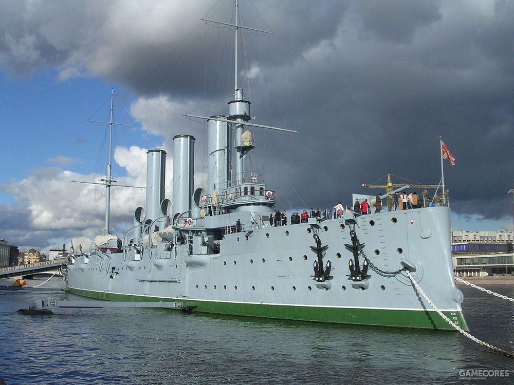阿芙乐尔号巡洋舰,来源维基百科