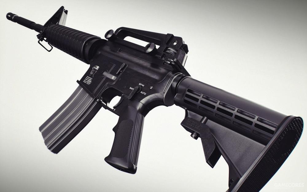"M4卡宾枪因为结构紧凑,模块化程度高,是以色列国防军的""通用""步枪之一"