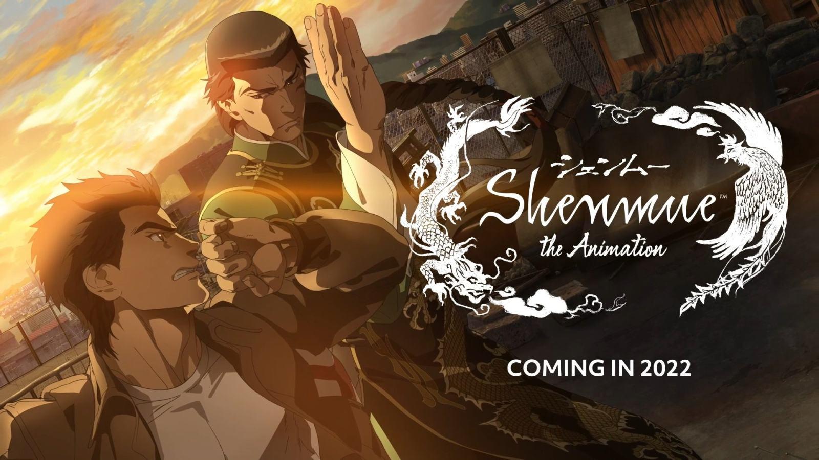 动画版《莎木》预告片公开,2022年播出