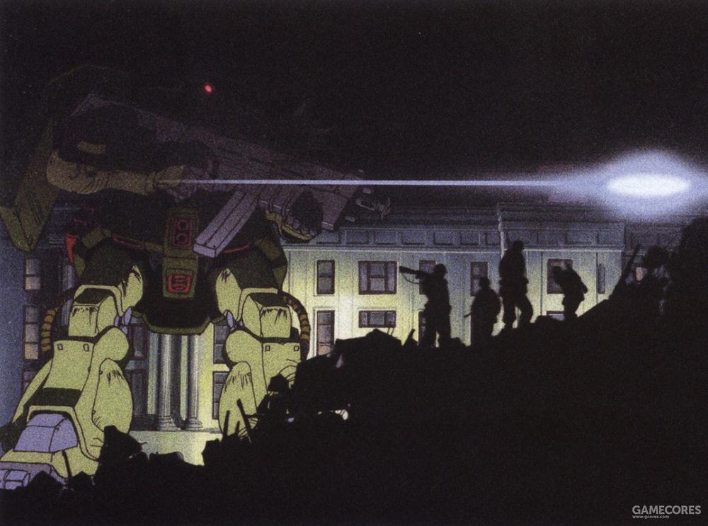 画集中的扎古形象全部是是0080动画中的造型。