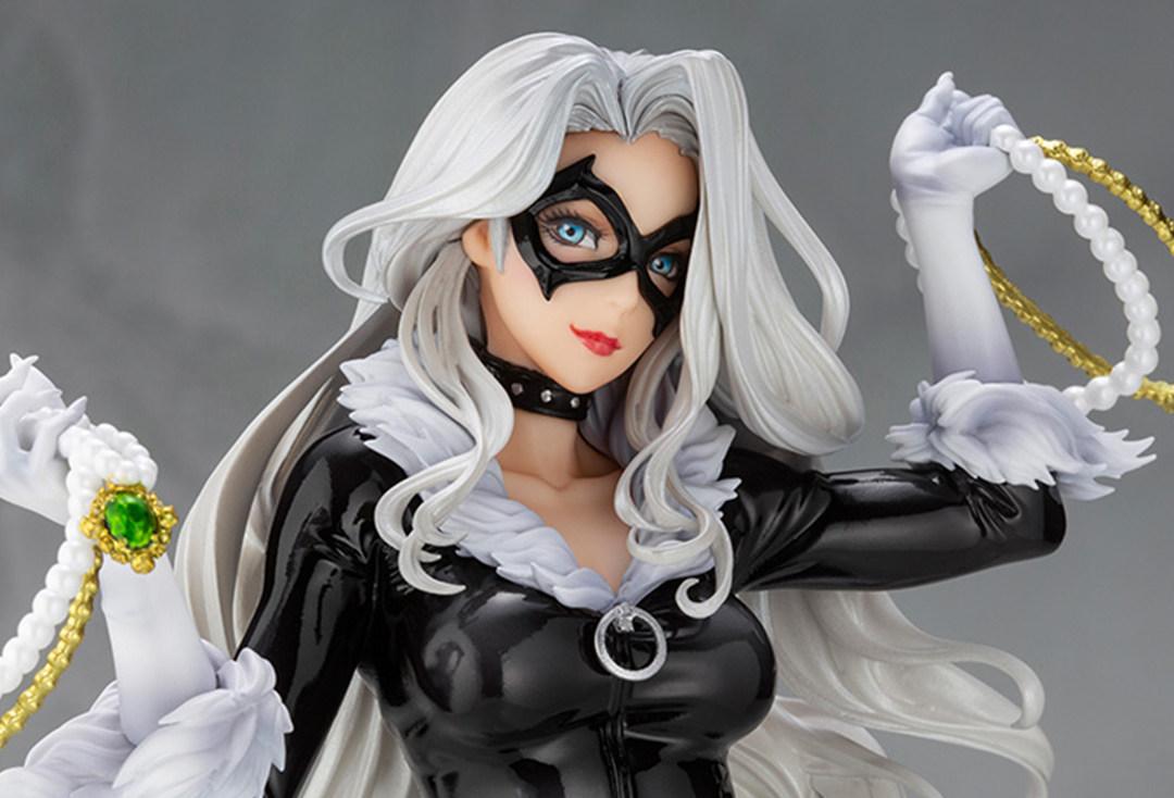 漫威坏女人再出模型,寿屋美少女系列黑猫将于12月发售