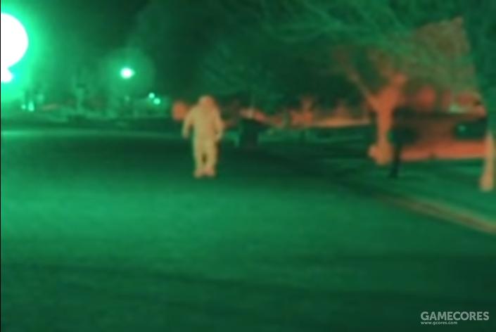 AN/PSQ-20夜间成像效果