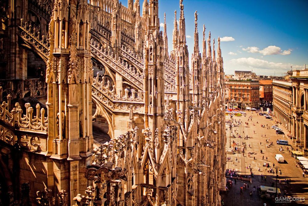 米兰大教堂飞扶壁