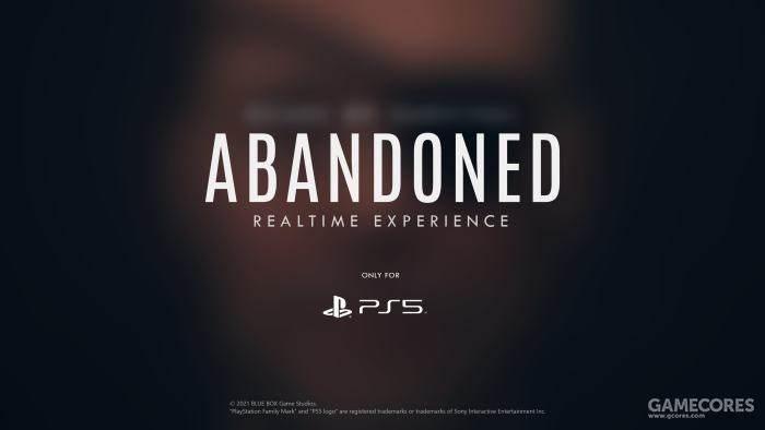 """神秘新作《Abandoned》预告应用程序由于""""技术问题""""再度延期"""