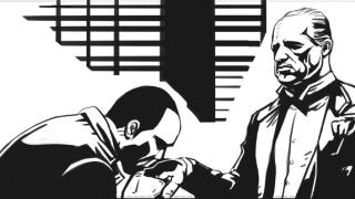 你能猜出这18页漫画里藏了哪些黑帮电影的梗吗?