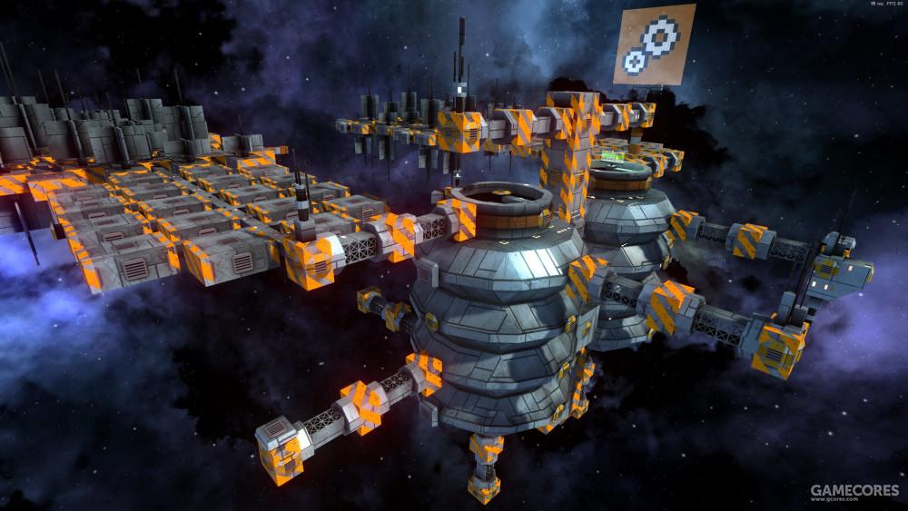 空间站提供主要的贸易和建设等功能