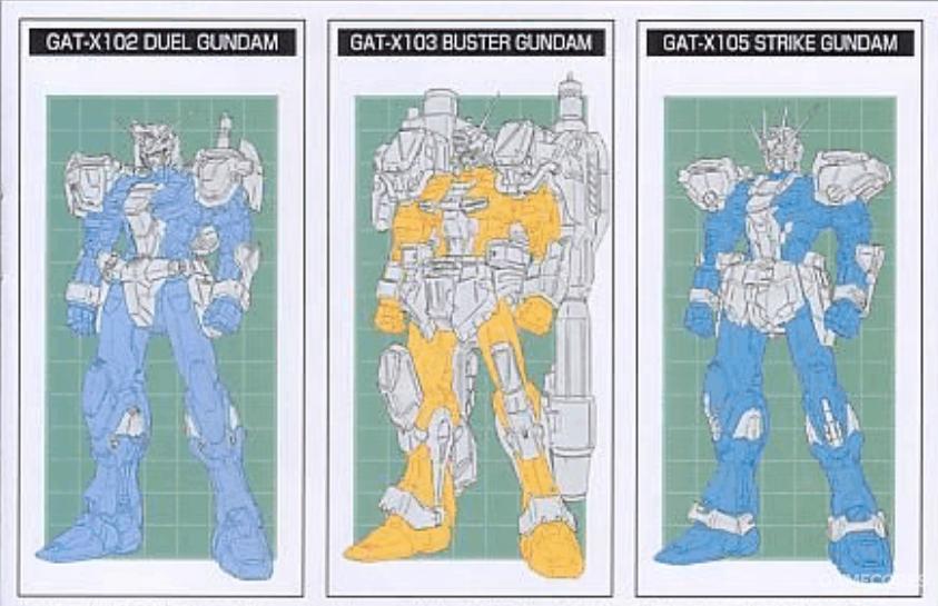 通过彩色与灰色区域,可以明显看出三机的相同与不同之处