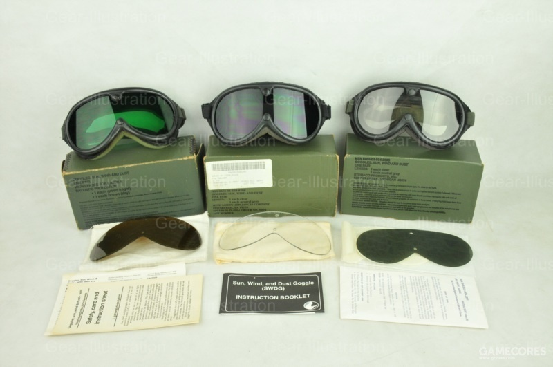 Sun, Wind, Dust Goggle / SWDG