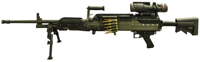 """现实中的LMG-M,即""""轻量级重型机枪"""""""
